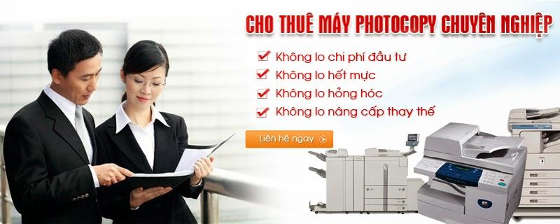 Cho thuê máy Photocopy giá tiết kiệm nhất