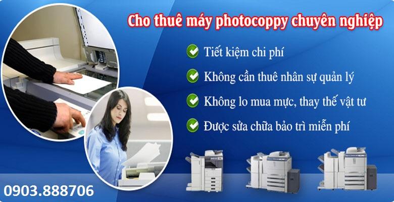 Dịch vụ cho thuê máy Photocopy giá rẻ tại TP.HCM