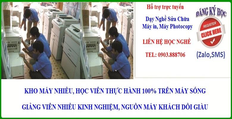 Chuyên Đào tạo sửa chữa máy Photocopy tại TP.HCM
