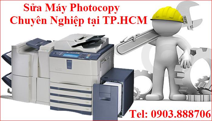 Nhận Sửa chữa máy Photocopy Chuyên Nghiệp tại TP.HCM